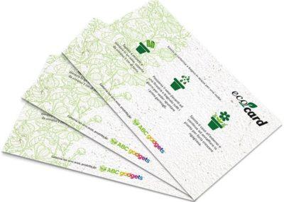 Flyer Ecocard personalizzabile