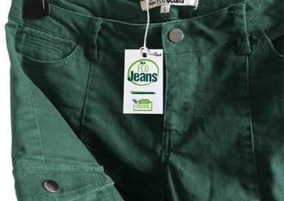 Etichetta per vestiti