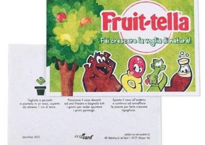 Ecocard - Flyer Fruittella