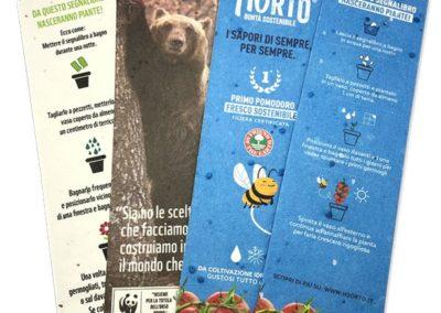 Segnalibro - WWF ed HORTO